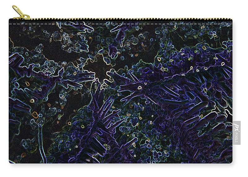Abstract Carry-all Pouch featuring the photograph Starfish Belly by Marnie Patchett