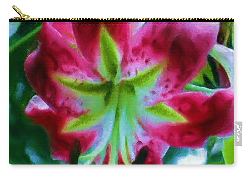 Fine Art Photography Carry-all Pouch featuring the photograph Stargazer by Patricia Griffin Brett