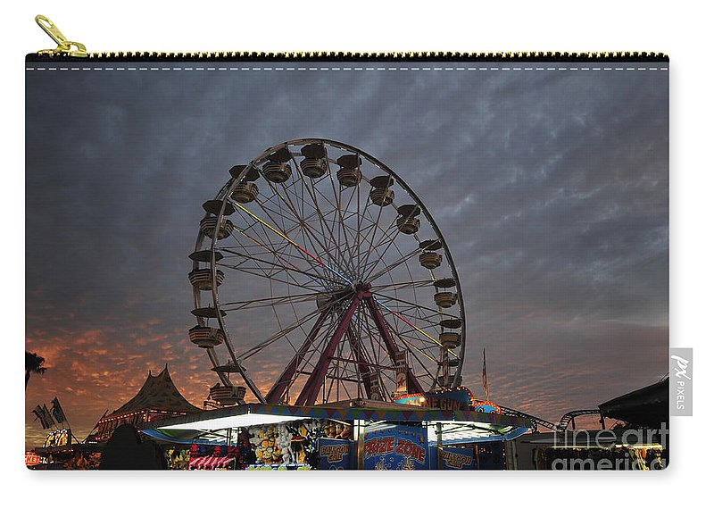 State Fair Carry-all Pouch featuring the photograph State Fair by David Lee Thompson