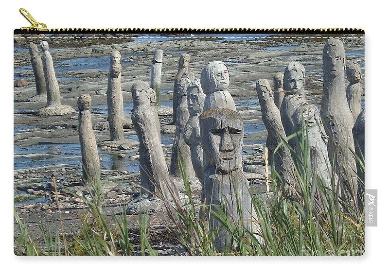Landscape Carry-all Pouch featuring the photograph Ste Flavie by Line Gagne