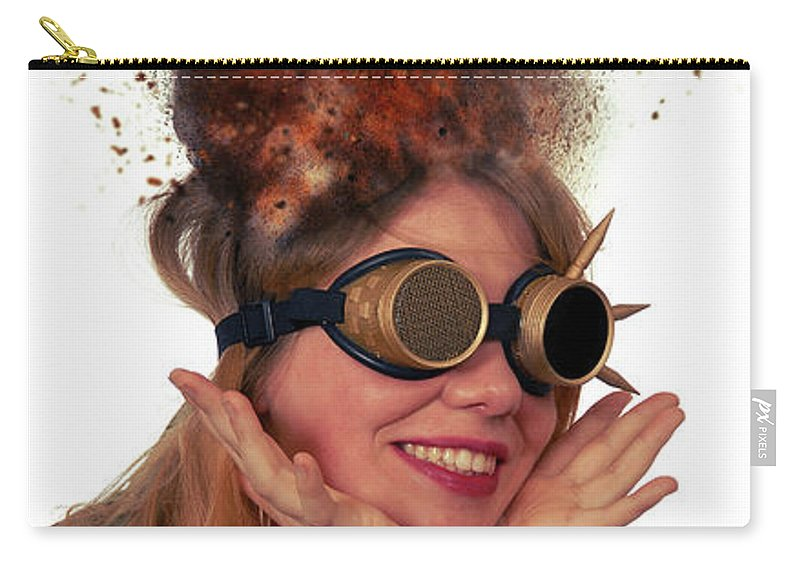 Steam Punk Carry-all Pouch featuring the photograph Steam Punk by Smart Aviation