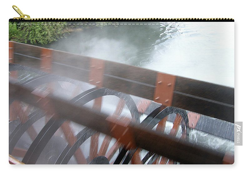 Steamboat Carry-all Pouch featuring the photograph Steamboat by Are Lund