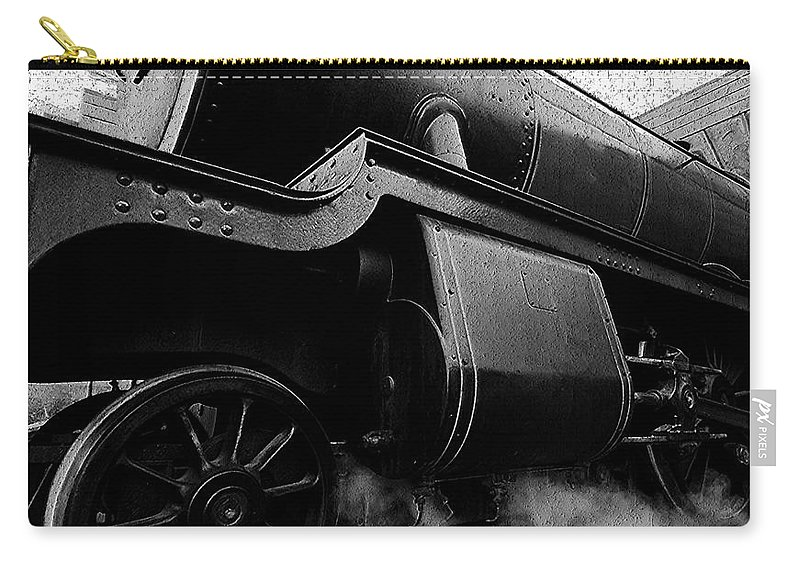 Steam Carry-all Pouch featuring the painting Steaming by David Lee Thompson