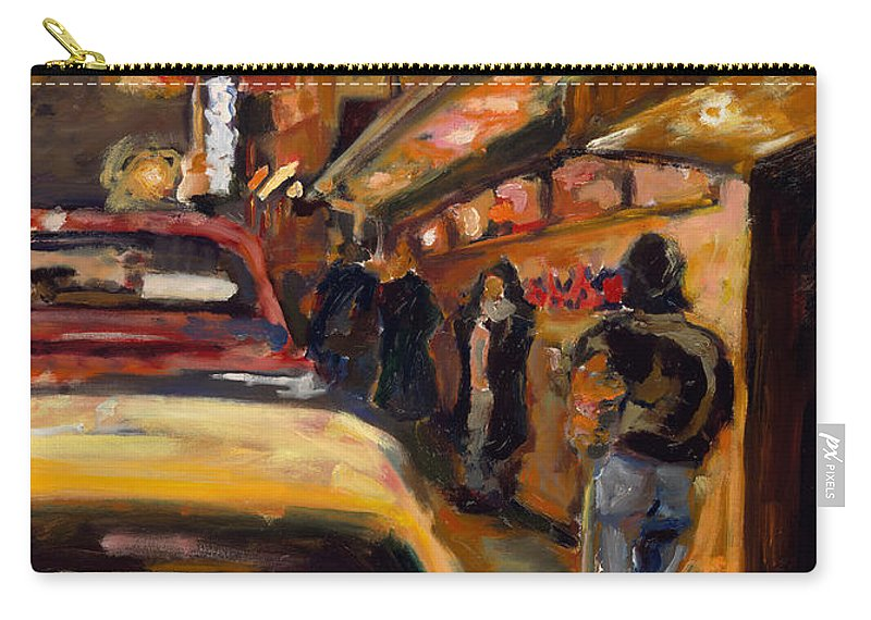 Rob Reeves Carry-all Pouch featuring the painting Steb's Amusements by Robert Reeves
