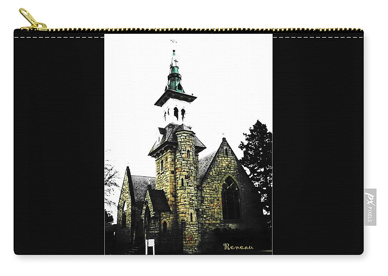Church Carry-all Pouch featuring the photograph Steeple Chase 2 by Sadie Reneau