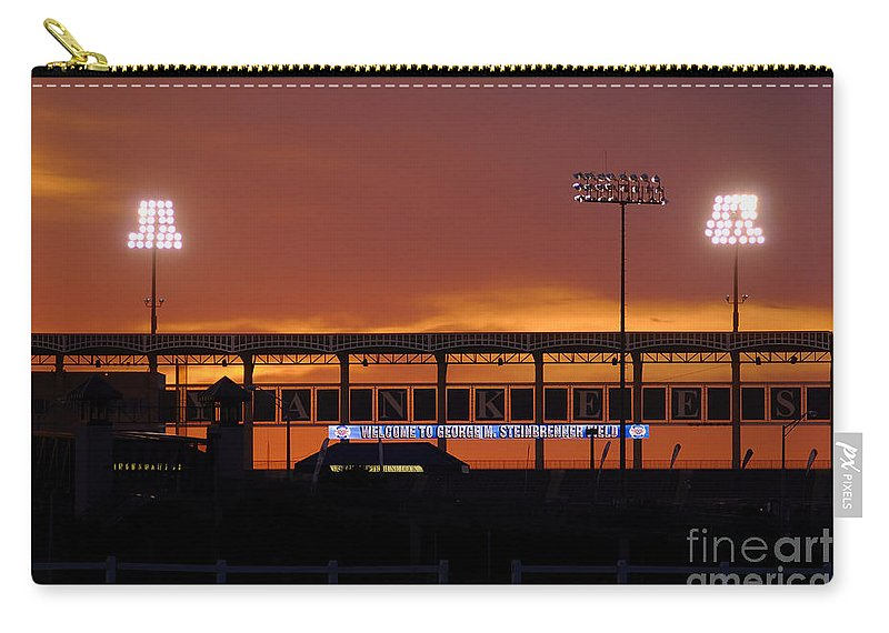 Steinbrenner Field Carry-all Pouch featuring the photograph Steinbrenner Field by David Lee Thompson