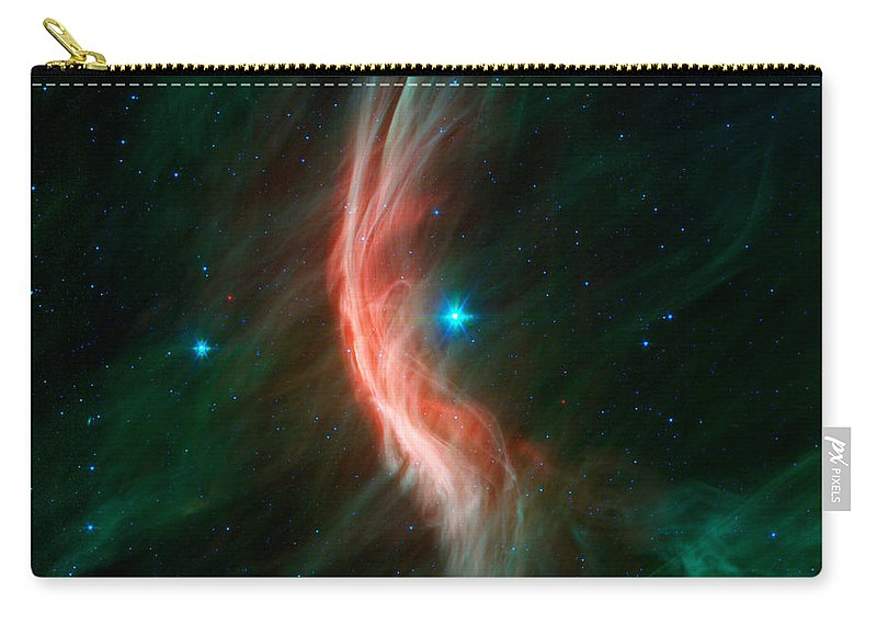 Vertical Carry-all Pouch featuring the photograph Stellar Winds Flowing by Stocktrek Images