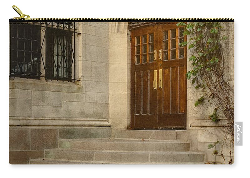 Steps Carry-all Pouch featuring the photograph Steps To Salvation by Margie Hurwich