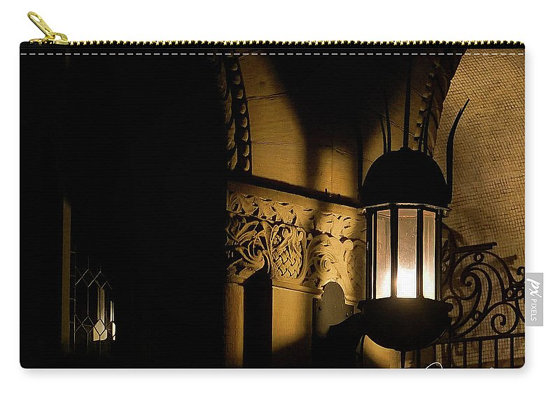 Morgantown Wvu Carry-all Pouch featuring the photograph Stewert Lights by Jacki Marino