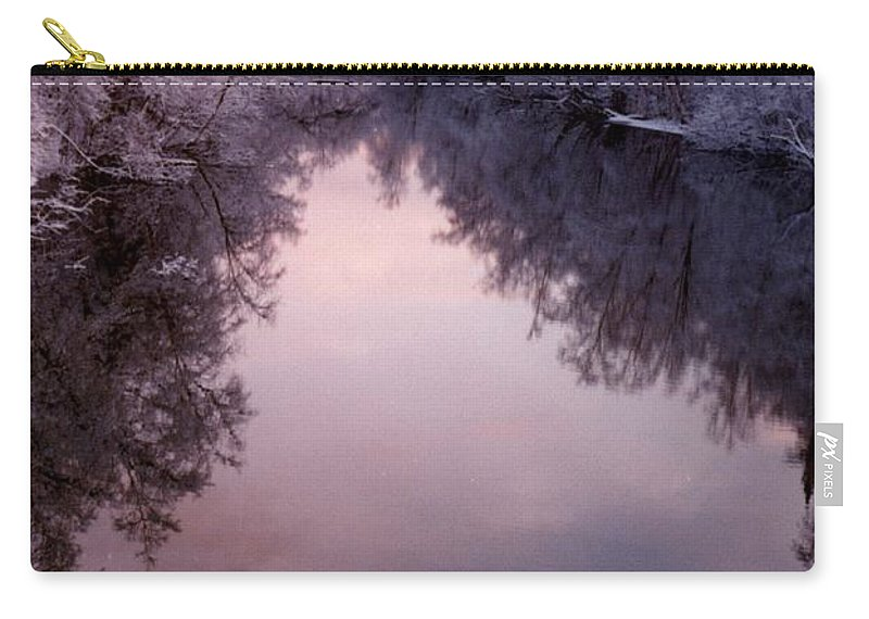 Frost Carry-all Pouch featuring the photograph Still by Ron Bissett