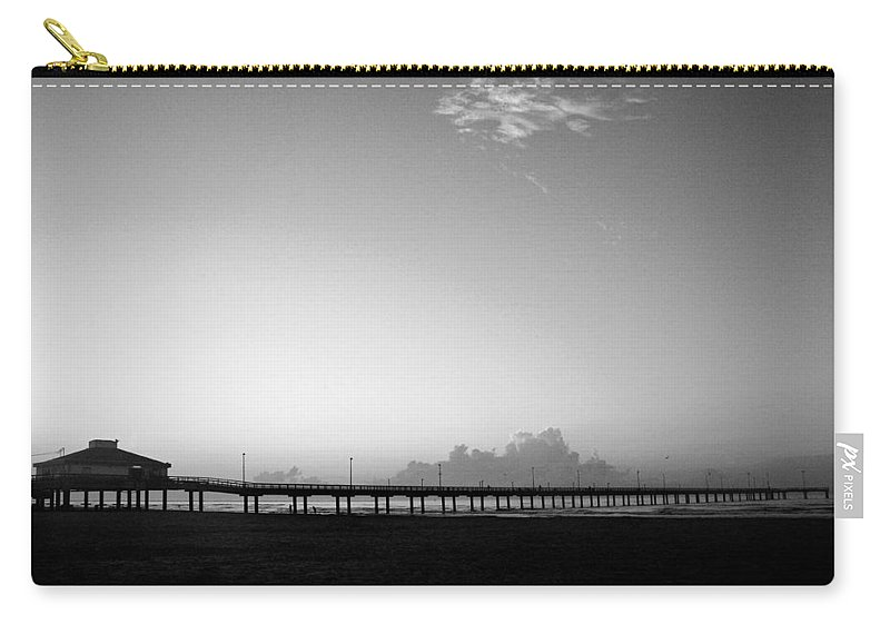 Sunrise Carry-all Pouch featuring the photograph Stillness Befor Dawn by Marilyn Hunt