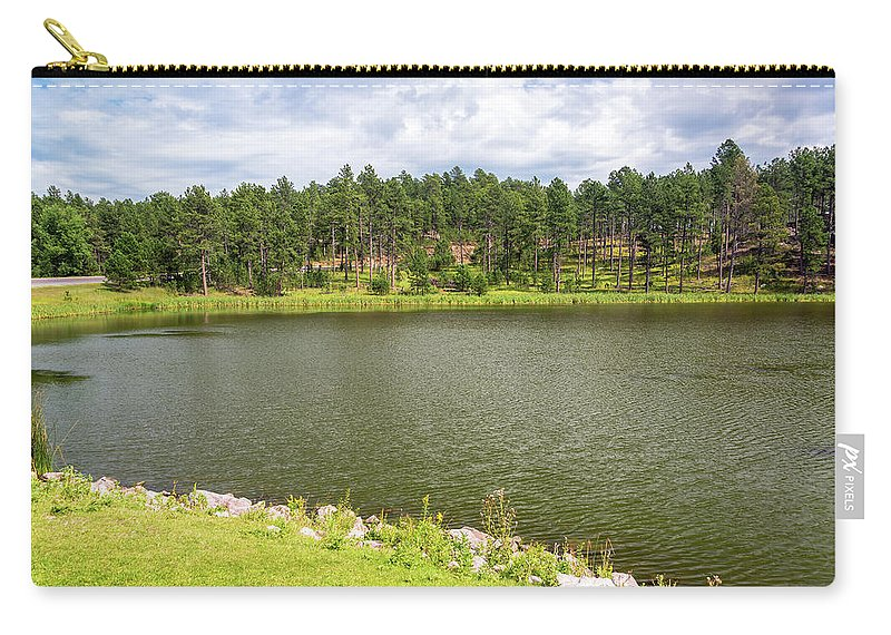 South Dakota Carry-all Pouch featuring the photograph Stockade Lake In Custer State Park by Jess Kraft