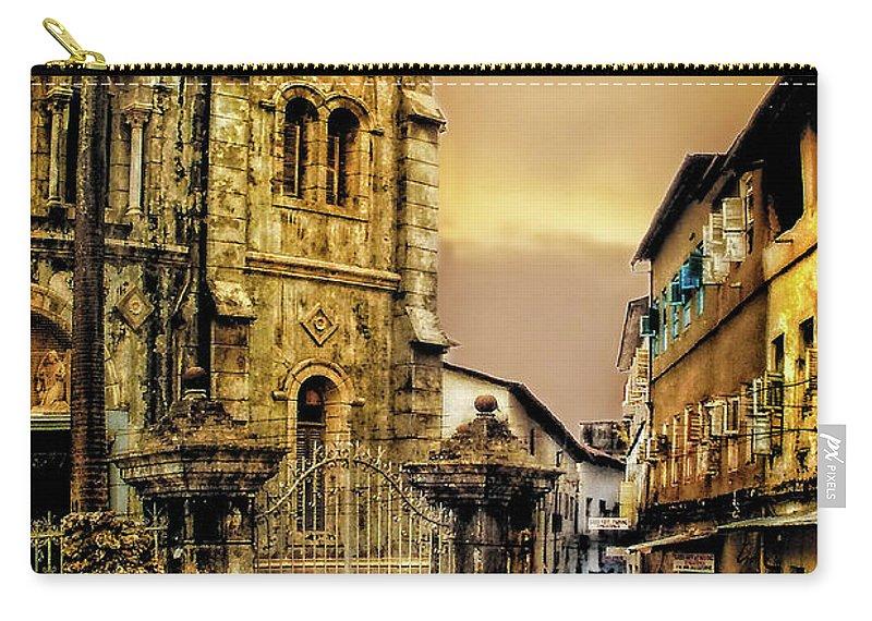 Zanzibar Carry-all Pouch featuring the photograph Stone Town, Zanzibar by Kay Brewer
