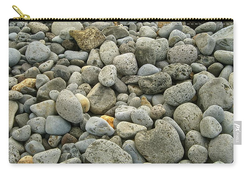 Abstract Carry-all Pouch featuring the photograph Stones by Michael Peychich