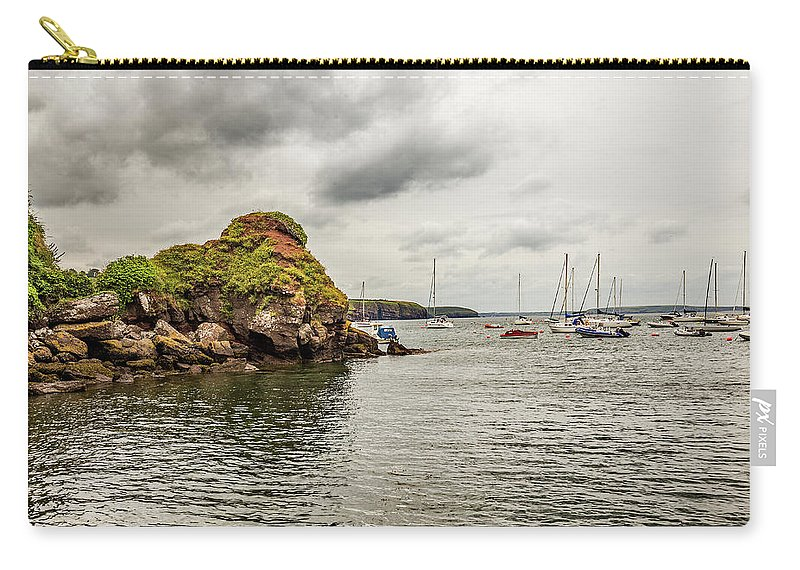 Ireland Carry-all Pouch featuring the photograph Stony Cove, Ireland by Ed James
