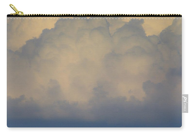 Clouds Carry-all Pouch featuring the photograph Storm At Sunset Bluestone State Park West Virginia by Teresa Mucha