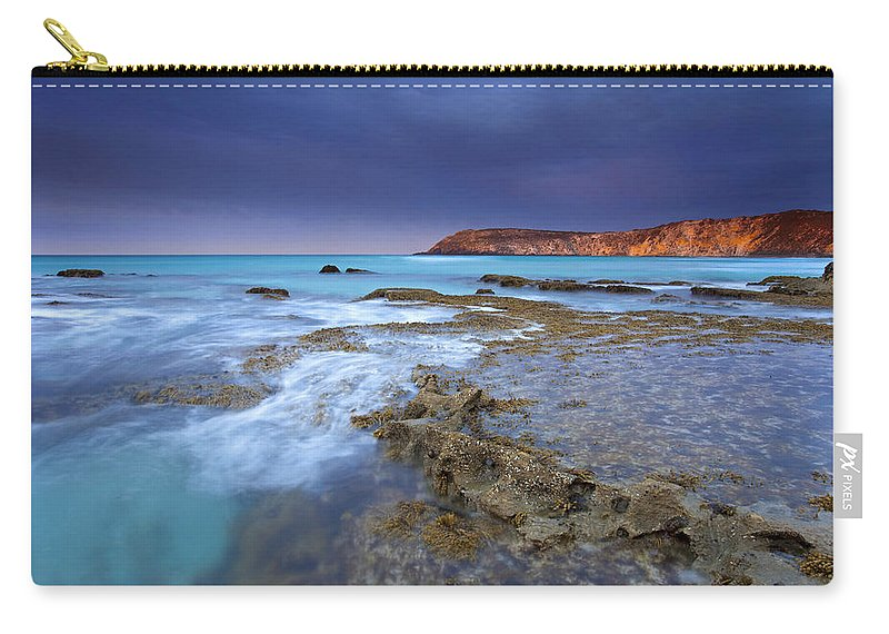 Dawn Carry-all Pouch featuring the photograph Storm Light by Mike Dawson