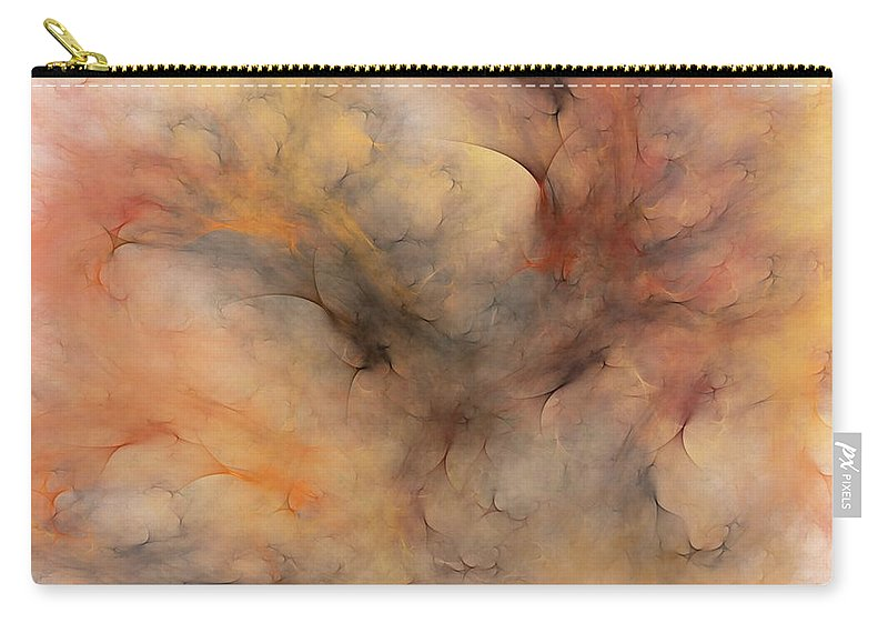 Abstract Carry-all Pouch featuring the digital art Stormy by David Lane
