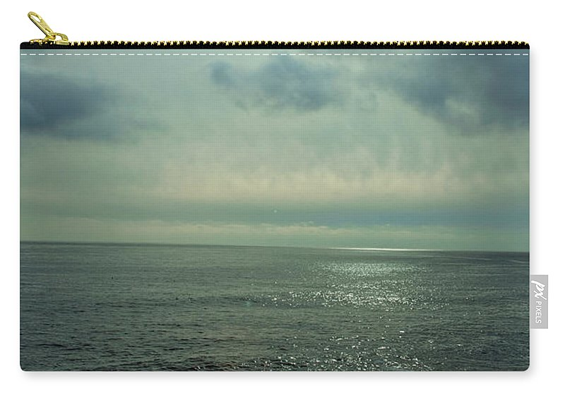 Ocean Carry-all Pouch featuring the photograph Stormy Day by Steven Natanson