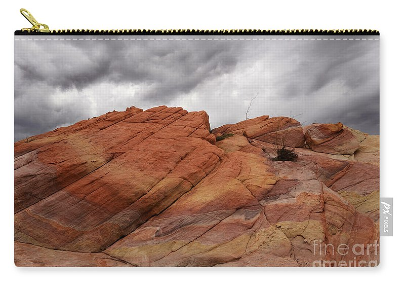 Nevada Carry-all Pouch featuring the photograph Stormy Weather 4 by Bob Christopher