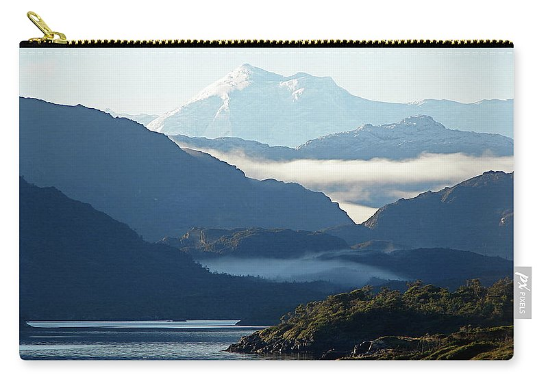 Straits Of Magellan Carry-all Pouch featuring the photograph Straits Of Magellan Vii by Brett Winn