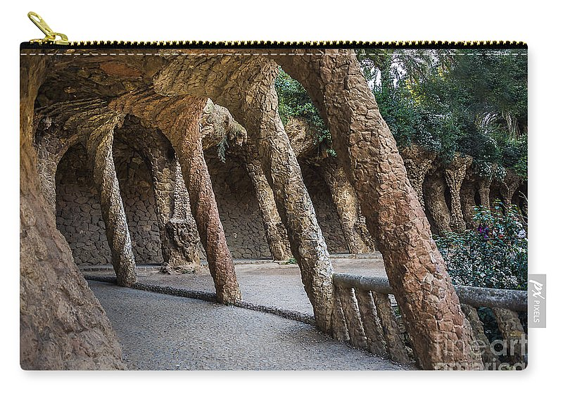 Arc Carry-all Pouch featuring the photograph Strange Architecture by Svetlana Sewell