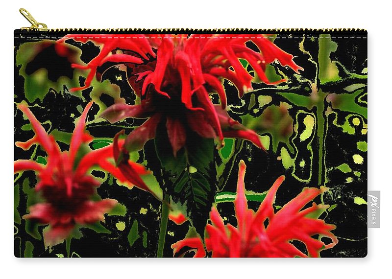 Abstract Carry-all Pouch featuring the photograph Strange Garden by Ian MacDonald