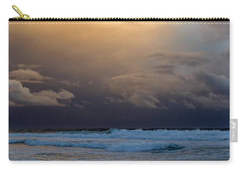 Sky Carry-all Pouch featuring the photograph Strange Sky by Stelios Kleanthous