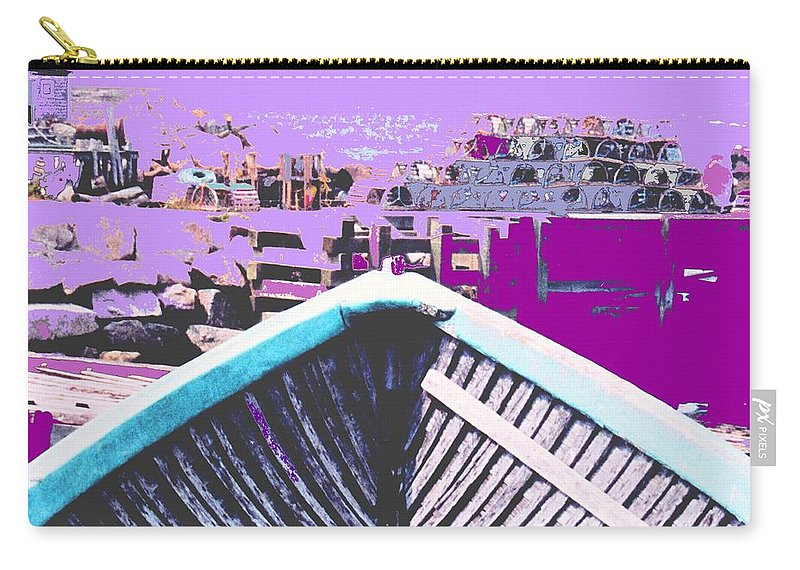 Nova Scotia Carry-all Pouch featuring the photograph Strange Voyage by Ian MacDonald