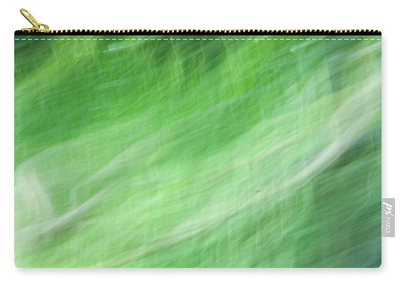 Streaming Carry-all Pouch featuring the photograph Streaming Life by Douglas Barnett