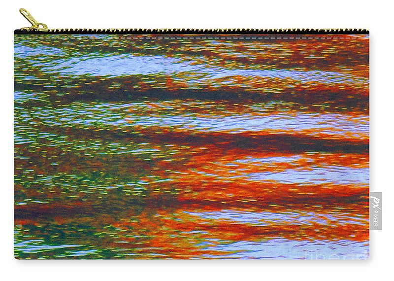 Abstract Carry-all Pouch featuring the photograph Streaming Rays Of Love by Sybil Staples