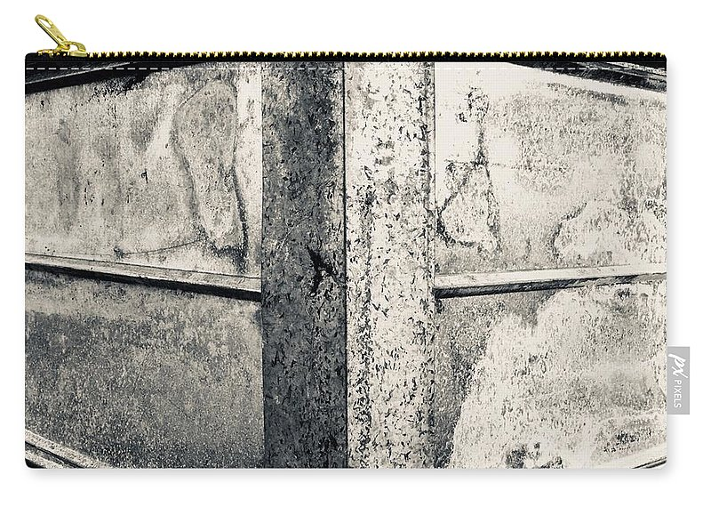 Structure Carry-all Pouch featuring the photograph Structure - I by Ishtar Stillmank
