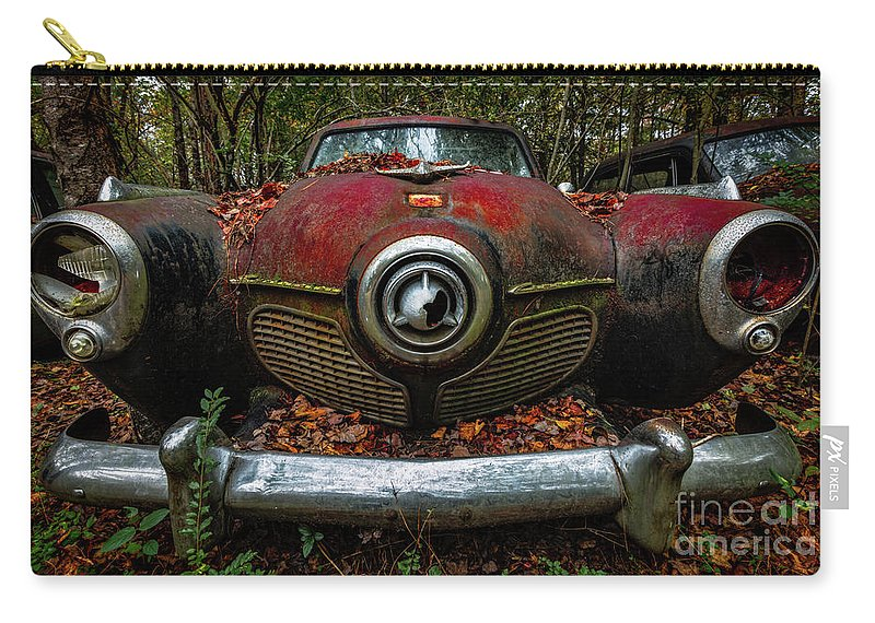 Studebaker Commander Carry-all Pouch featuring the photograph Studebaker Commander by Doug Sturgess