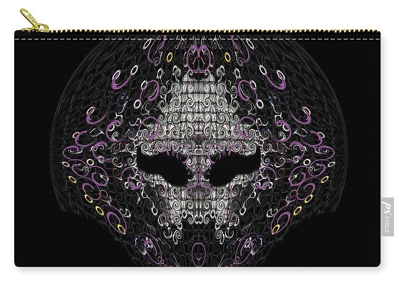 Carry-all Pouch featuring the digital art Student by Subbora Jackson