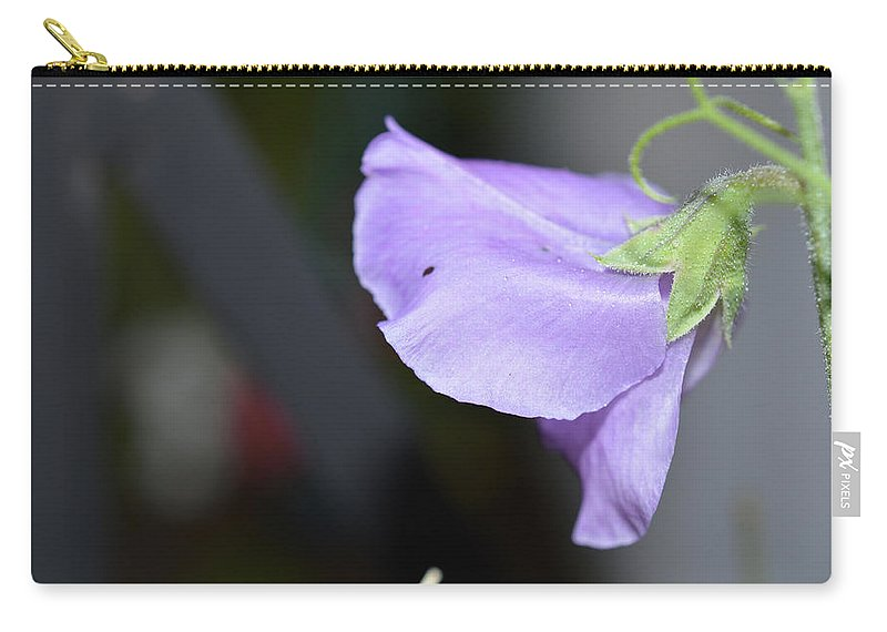 Garden Carry-all Pouch featuring the photograph Study In Purple 2 by MHmarkhanlon