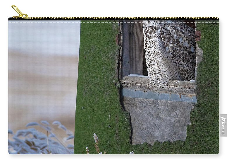 Festblues Carry-all Pouch featuring the photograph Subarticus.. by Nina Stavlund
