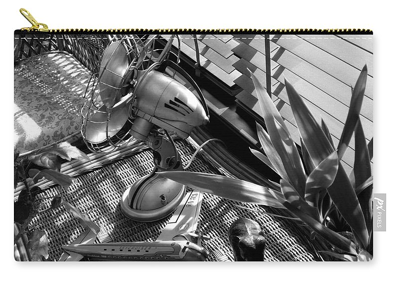 Still Life Carry-all Pouch featuring the photograph Suburban Safari by Charles Stuart