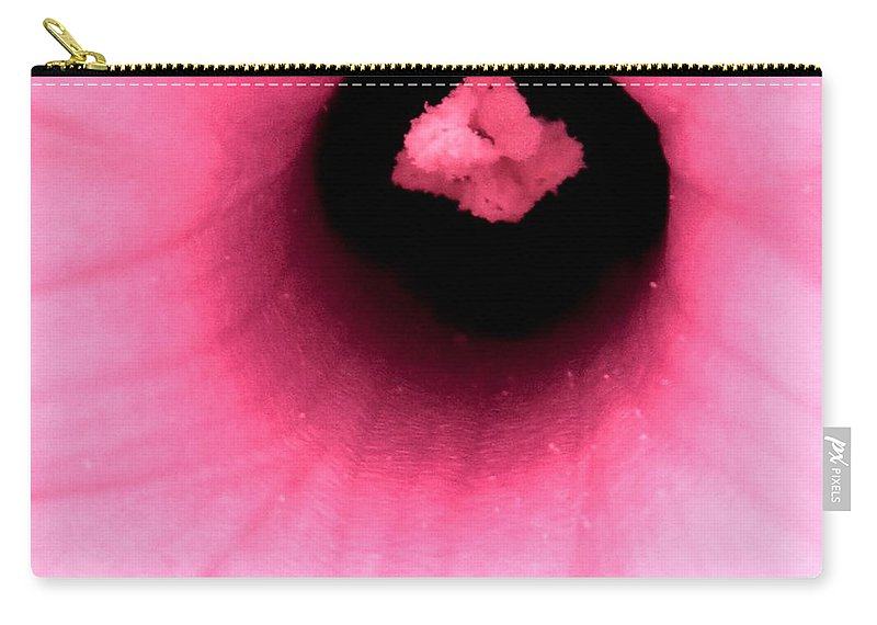 Abstract Carry-all Pouch featuring the photograph Sucked Into A Black Hole by Ian MacDonald