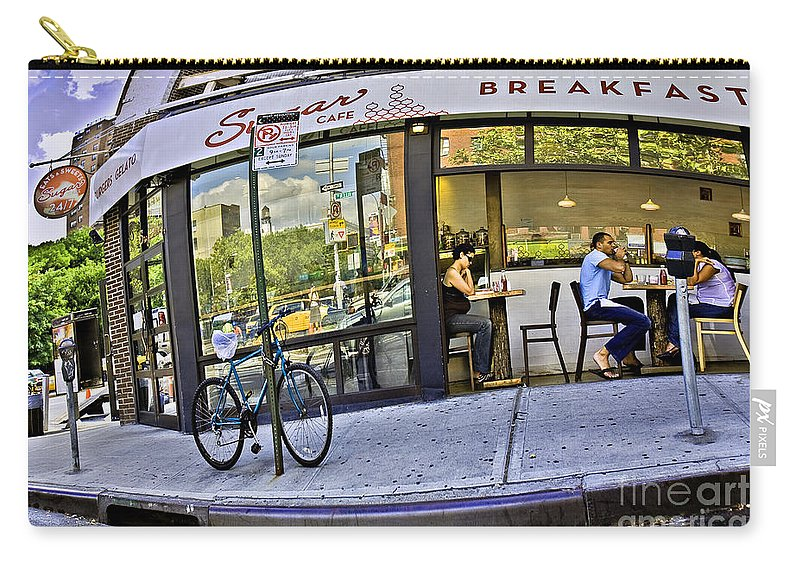 Breakfast Carry-all Pouch featuring the photograph Sugar Breakfast by Madeline Ellis