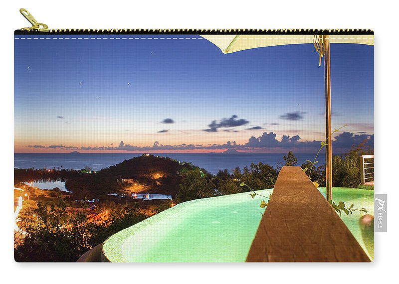 Antigua And Barbuda Carry-all Pouch featuring the photograph Sugar Ridge by Ferry Zievinger