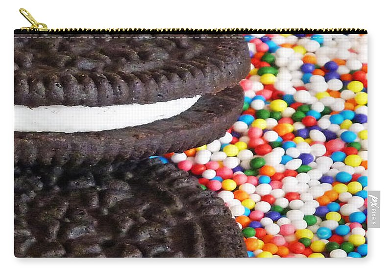 Sugar Rush Carry-all Pouch featuring the photograph Sugar Rush by Methune Hively