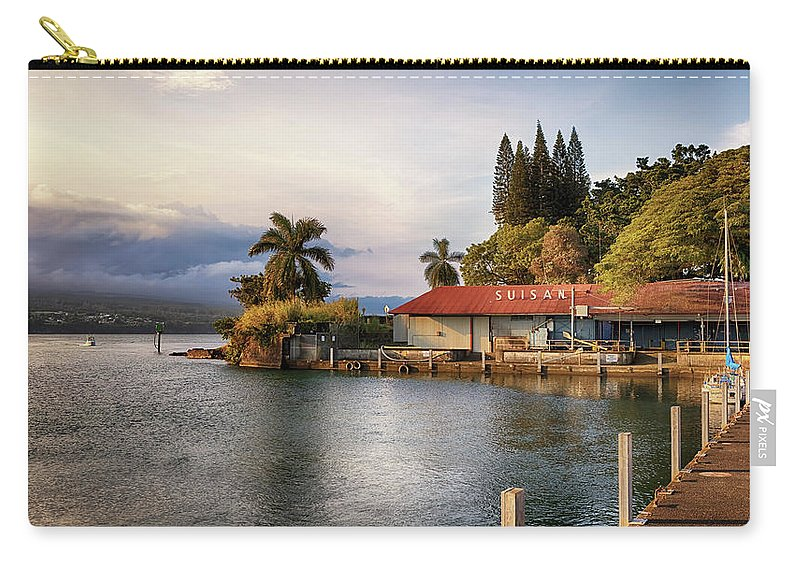 Suisan Fish Market Carry-all Pouch featuring the photograph Suisan Fish Market by Susan Rissi Tregoning