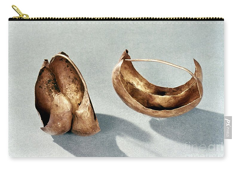 2500 B.c. Carry-all Pouch featuring the photograph Sumerian Jewelry by Granger