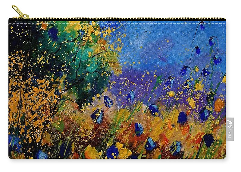 Poppy Carry-all Pouch featuring the painting Summer 459090 by Pol Ledent