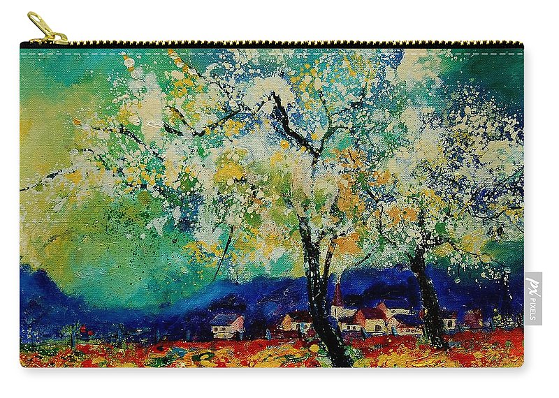 Spring Carry-all Pouch featuring the painting Summer 5691235 by Pol Ledent