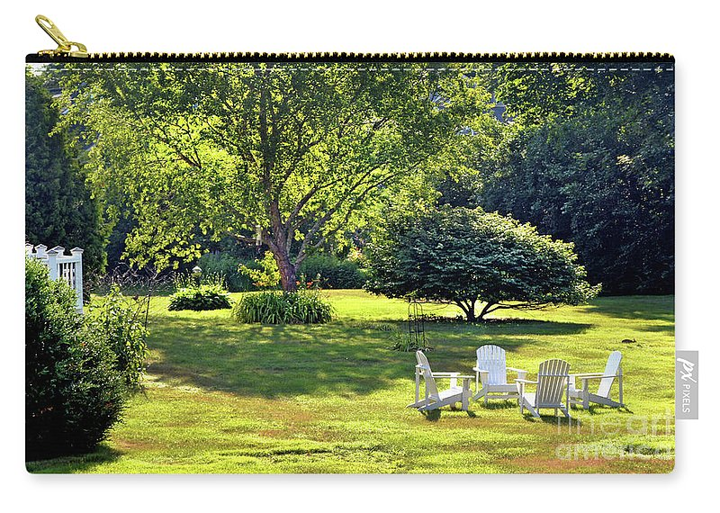 Lawn Carry-all Pouch featuring the photograph Summer Day by Dianne Morgado