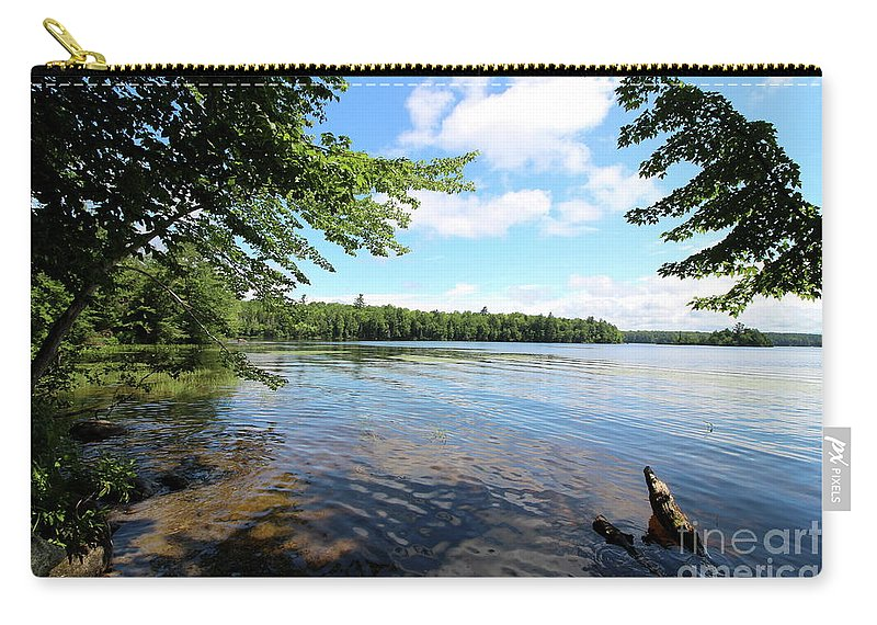 Lake Umbagog Carry-all Pouch featuring the photograph Summer Dreaming On Lake Umbagog by Neal Eslinger