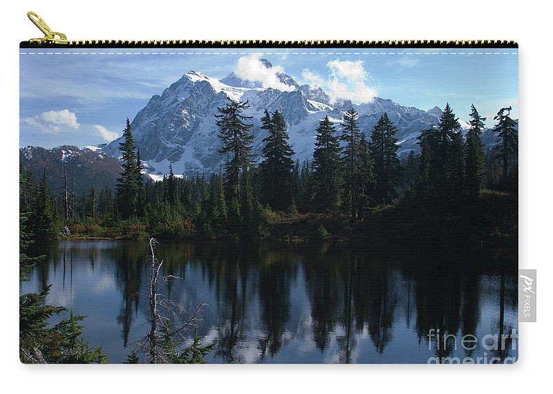 Mountain Carry-all Pouch featuring the photograph Summer Dreams by Rod Wiens