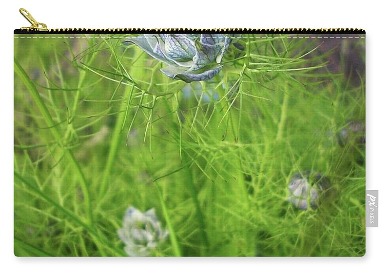 Flowers Carry-all Pouch featuring the photograph Summer Flowers by Louise Macarthur Art and Photography