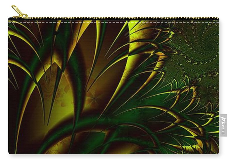 Digital Art Carry-all Pouch featuring the digital art Summer Frenzy by Amanda Moore